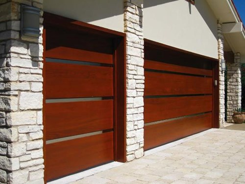 Genesis Custom Wood Garage Door