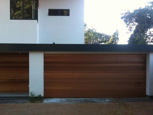 . Emilio Modern Style Custom Wood Garage Door EMILIO by Pena