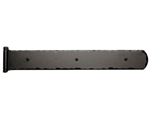 "17""/ 24"" Rustic Mission Hinge w/ Butt Pin; Solid Aluminum"