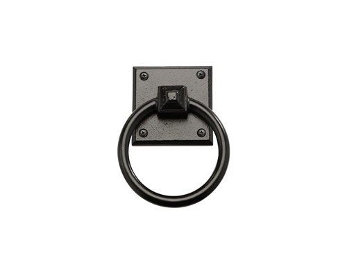 "4-1/2"" Mission Square Ring Pull; Solid Aluminum"