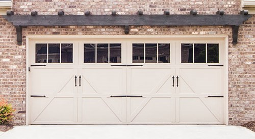 Carriage House Stamp Doors